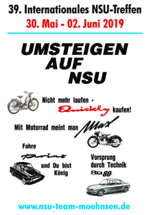 39. internationales NSU-Treffen